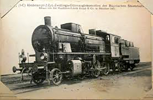 Ferrocarril antiguo