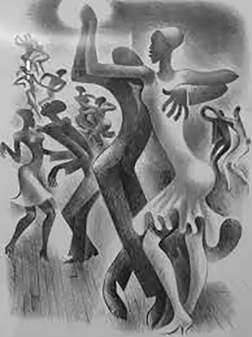 Miguel Covarrubias. The lindy hop. Flikr