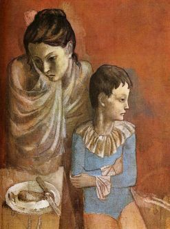 Pablo_Picasso,_1904-05,_Les_Baladins_(Mother_and_Child,_Acrobats),_gouache_on_canvas,_90_x_71_cm_Staatsgalerie,_Stuttgart