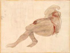 Desnudo mujerRodin_drawings