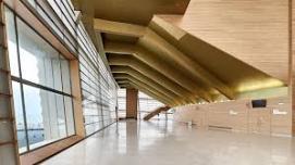 Moneo Kursaal pasillo interior
