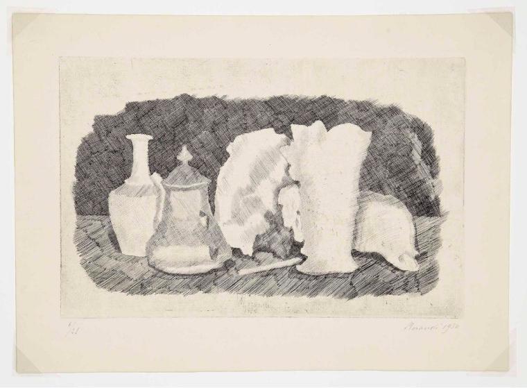 Morandi en papel Naturaleza_muerta-1930-11